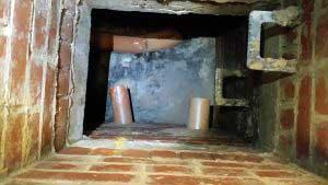 drain repair hole