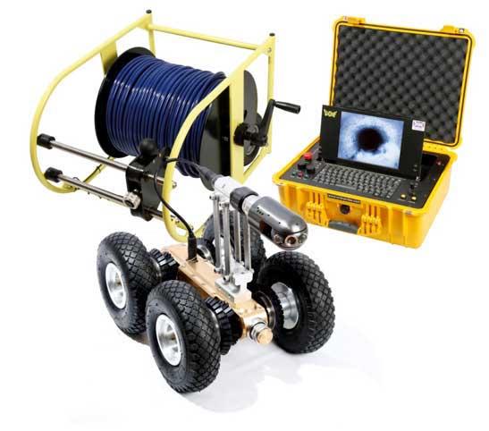 Drainage survey cctv equipment